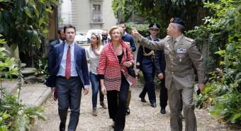 Ministro Pinotti in visita a Firenze