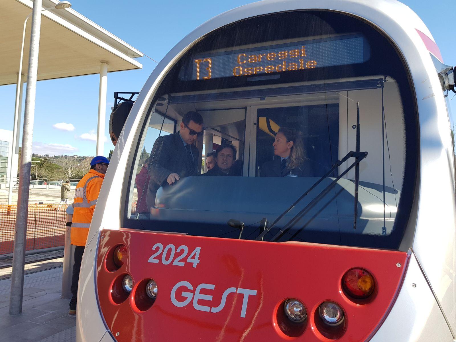 Primo viaggio in tramvia linea 3