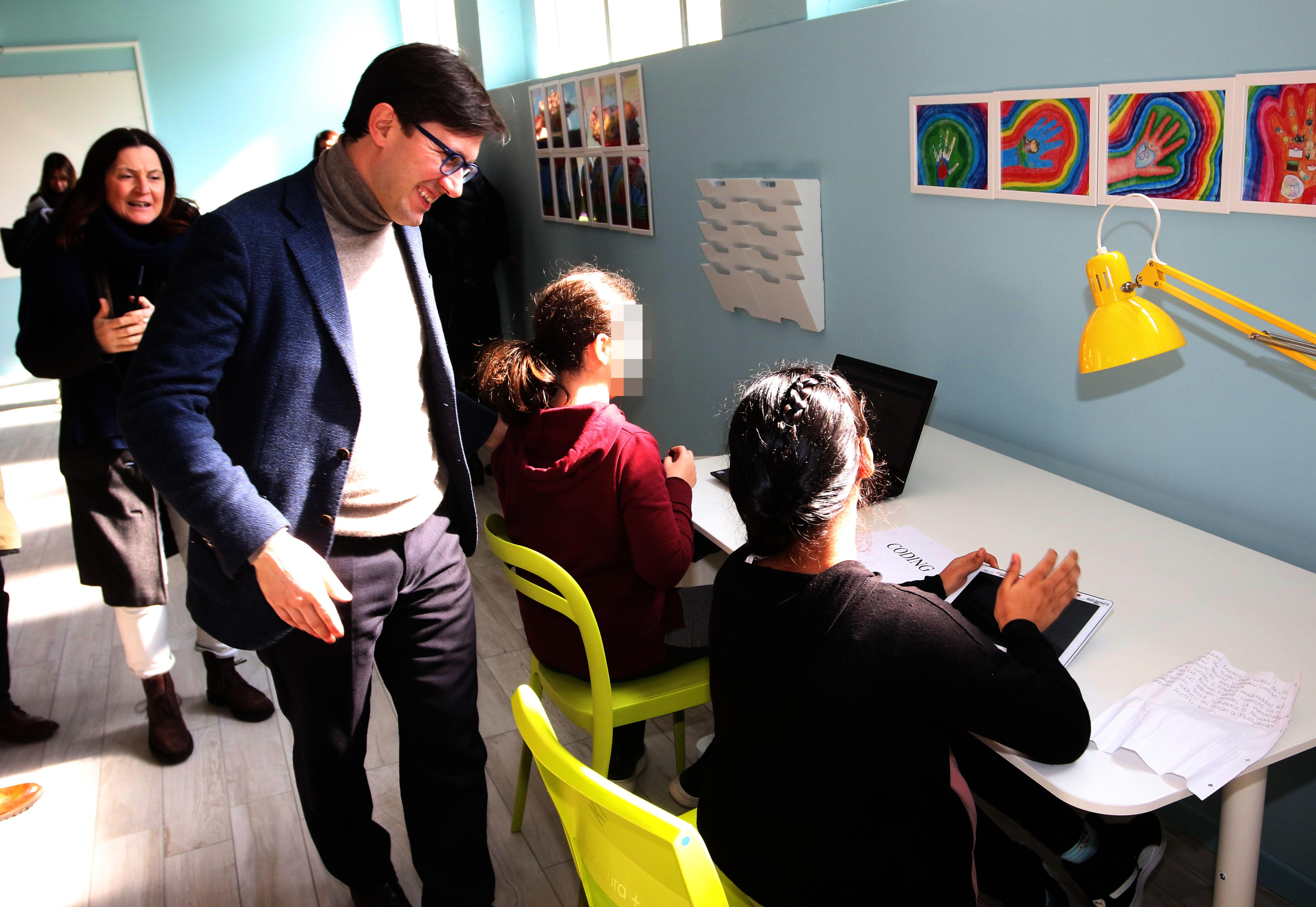 Nuovi spazi creativi scuola Ghiberti
