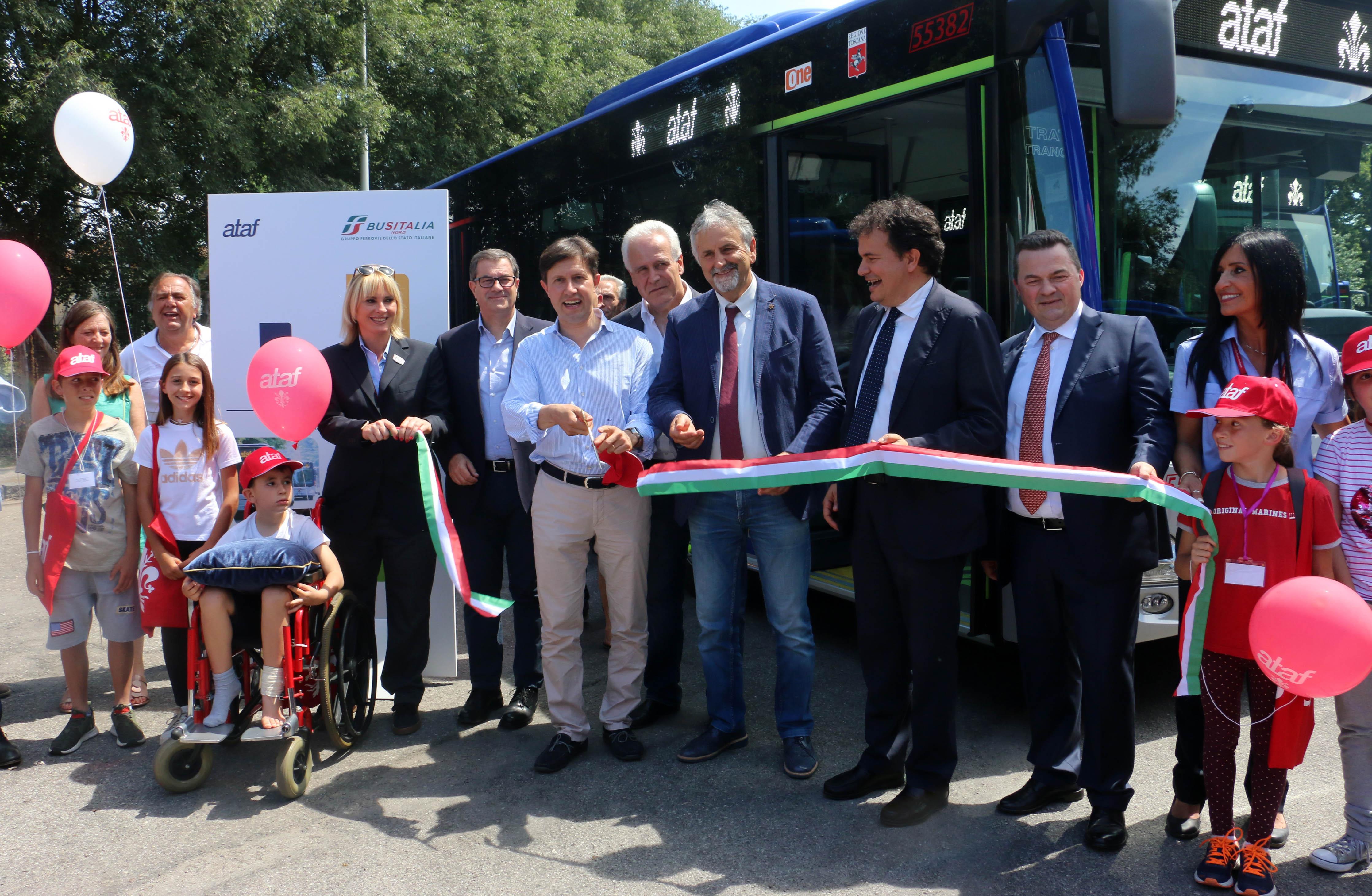 Presentazione nuovi bus Ataf