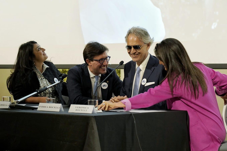 Con Andrea Bocelli presentiamo la nuova sede della sua Fondazione nel complesso di San Firenze