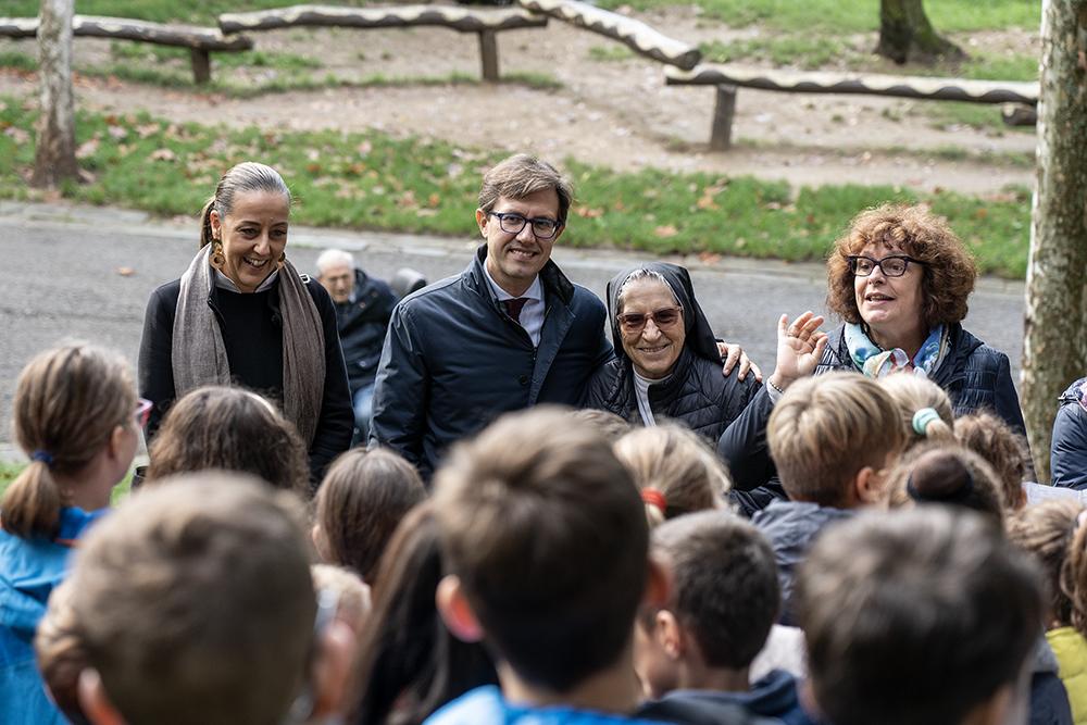 Festa dell'albero, parco di Villa Strozzi, 7 novembre 2019
