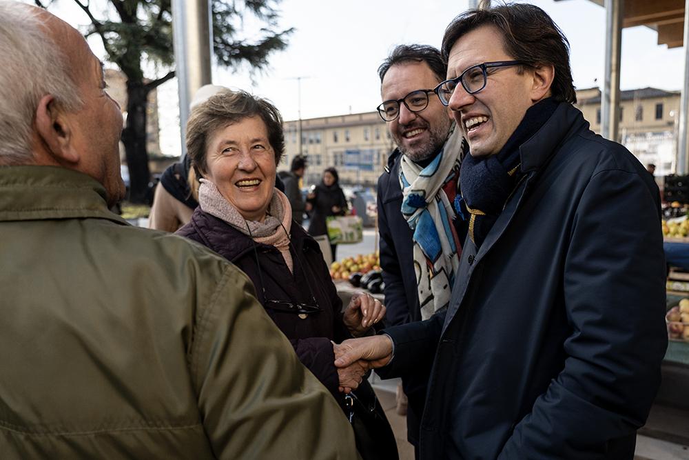 Nuovo mercato in piazza delle Cure, 14 dicembre 2019