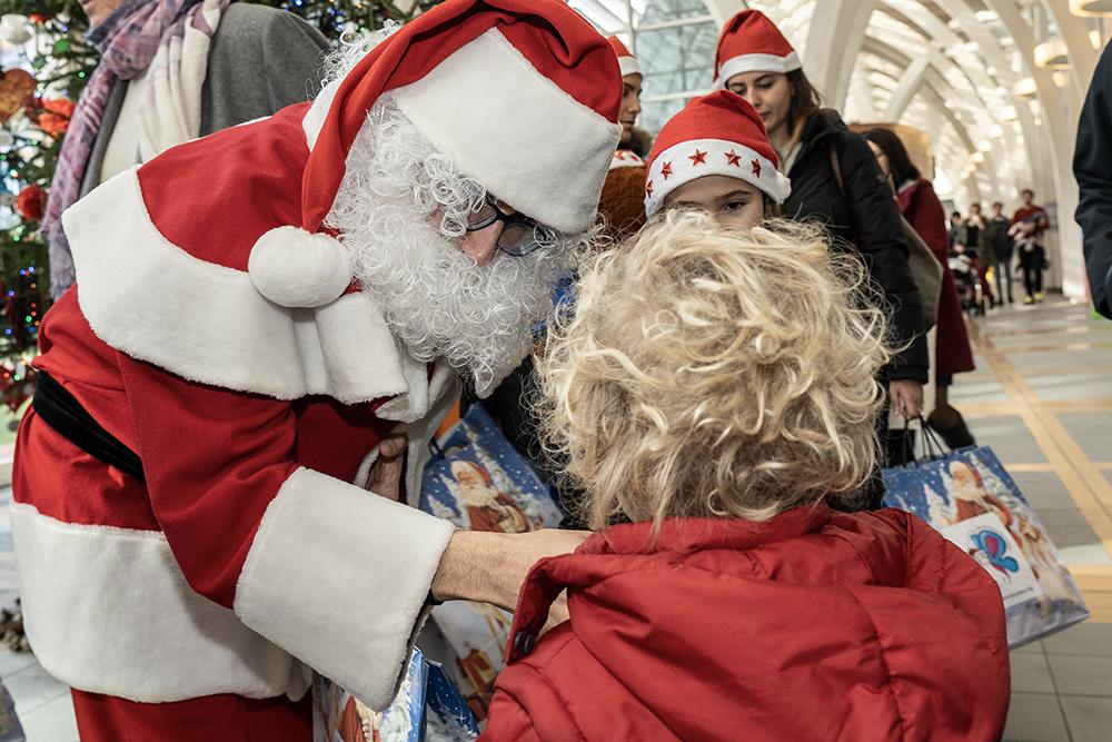 Auguri di Natale ai bambini del Meyer, 24 dicembre 2019