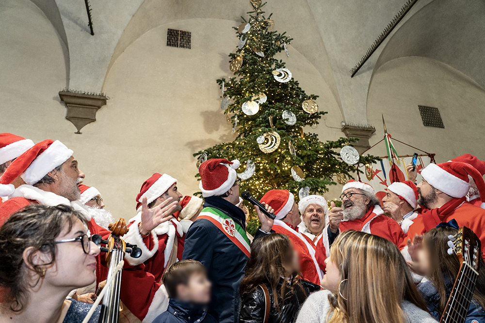Accensione Albero di Natale, Palazzo Vecchio, 8 Dicembre 2019