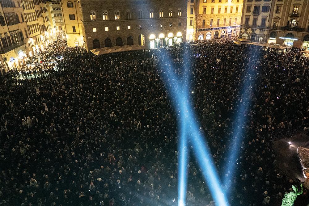Capodanno 2020, Piazza della Signoria