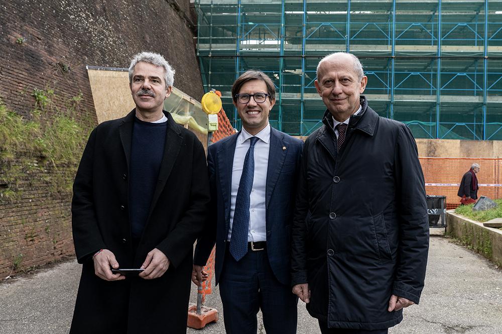 Conferenza stampa lavori di restauro della Fortezza Da Basso, 13 febbraio 2020