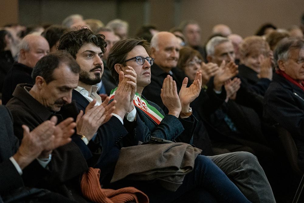 Commemorazione di Narciso Parigi, Palazzo Vecchio 23 febbraio 2020