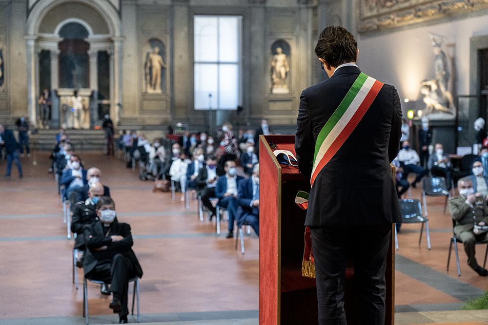 Rinasce Firenze, ripensiamo la città, Palazzo Vecchio 27 maggio 2020