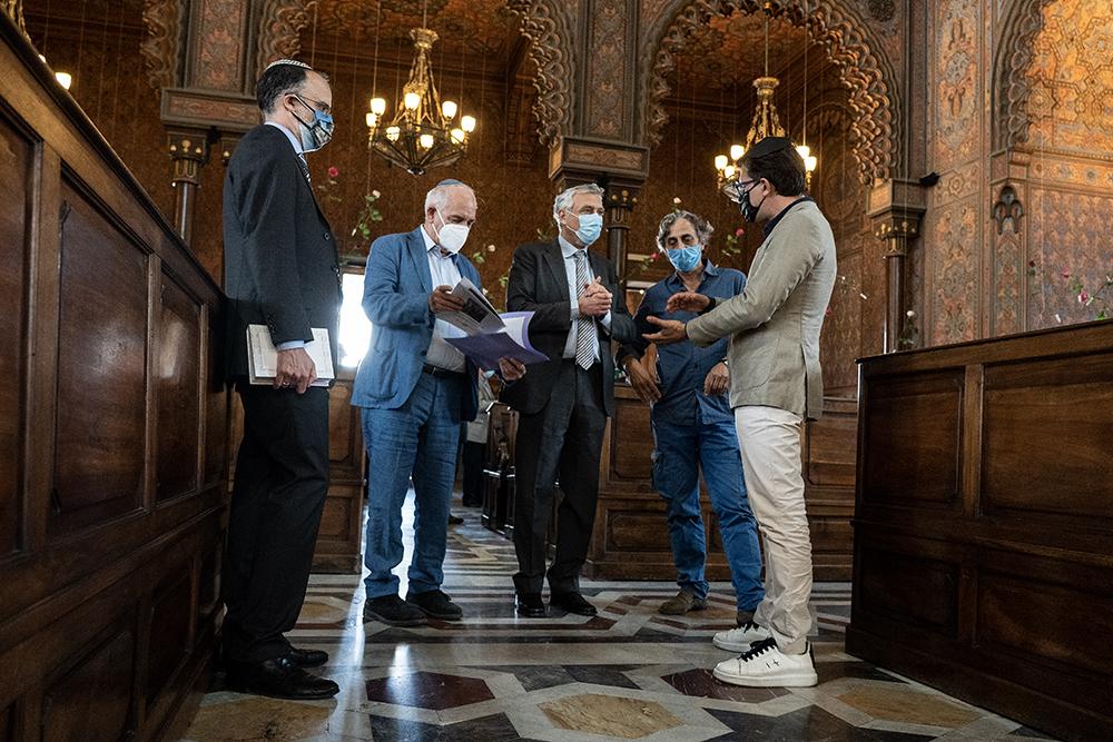 Visita  alla Sinagoga, buona festività di Shavuot, la Pasqua delle Rose, 28 maggio 2020