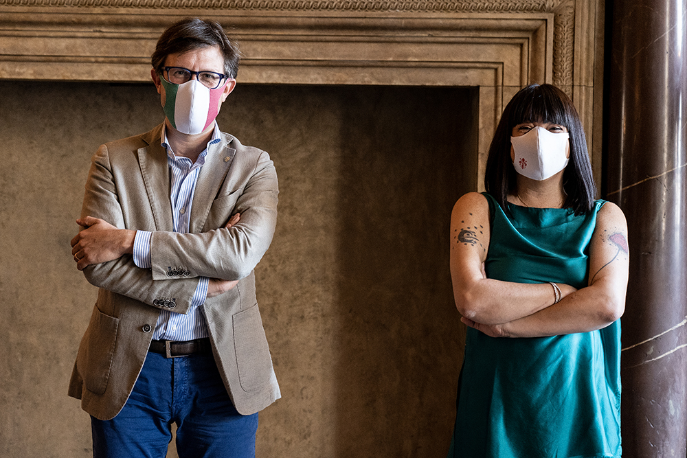 In visita a Firenze Cristina l'estetista cinica, 13 giugno 2020