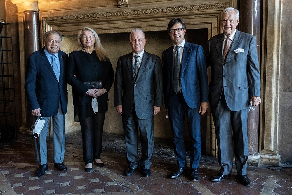 Conferimento della laurea honoris causa al maestro Daniel Barenboim, Palazzo Vecchio 22 giugno 2020