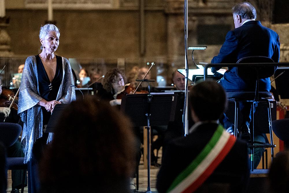 Concerto nella Cattedrale di Santa Maria del Fiore con Zubin Mehta a dirigere l 'Orchestra e il Coro del Maggio, 24 giugno 2020