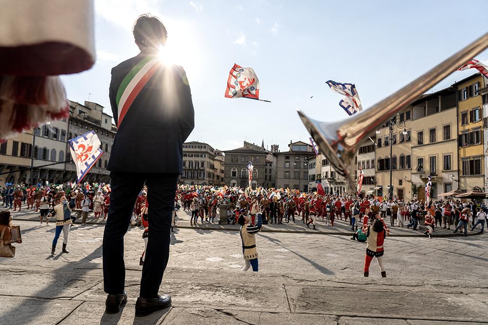 Fiorini d'oro al mondo del sociale e della sanità, piazza Santa Croce 24 giugno2020