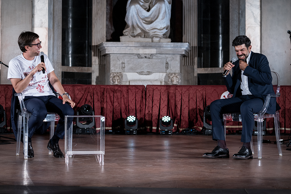 Stratego con Pierfrancesco Favino, Palazzo Vecchio 24 giugno 2020