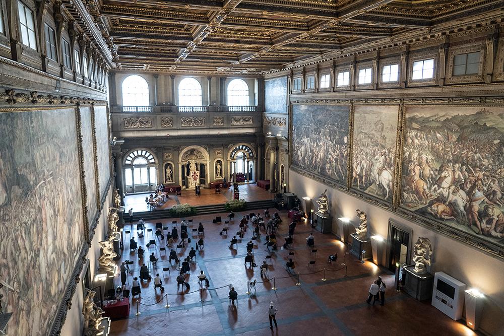 Riunito il Consiglio Comunale, Palazzo Vecchio 8 giugno 2020