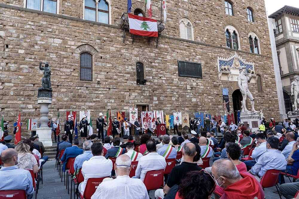 Festa della liberazione, Palazzo Vecchio 11 agosto 2020