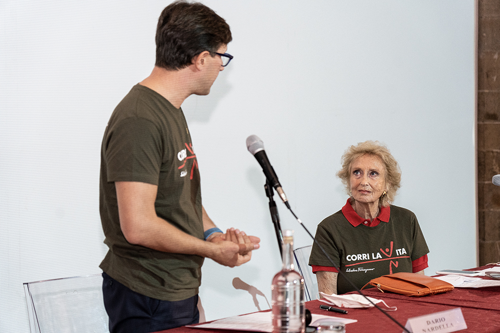 Conferenza stampa Corri la Vita, 23 settembre 2020