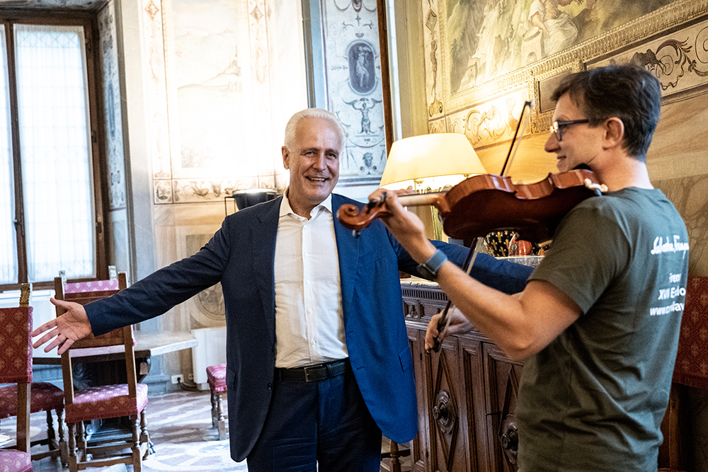 Eugenio Giani, Palazzo Vecchio 23 settembre 2020