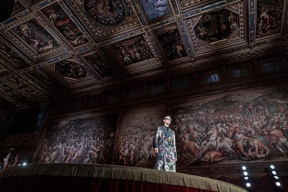 Sfilata Dolce & Gabbana, Palazzo Vecchio 2 settembre 2020