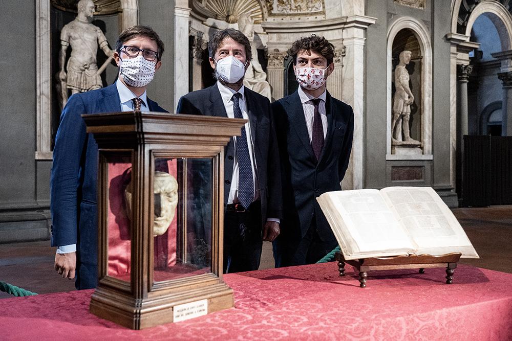 700 anni dalla morte di Dante Alighieri, Palazzo Vecchio 2 ottobre 2020