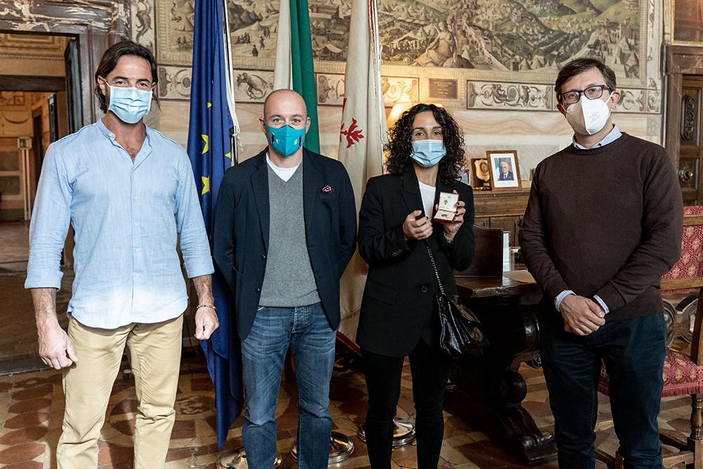 Invito a Palazzo Vecchio per Martina Trevisan, 19 ottobre 2020