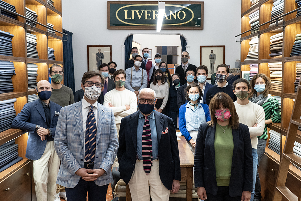 Visita alla storica sartoria Liverano, 9 ottobre 2020