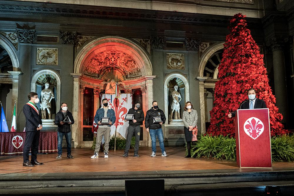 Festa del Dono, Palazzo Vecchio 18 dicembre 2020