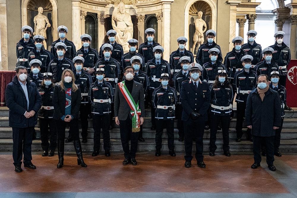 29 nuovi agenti della Polizia Municipale , 20 gennaio 2021