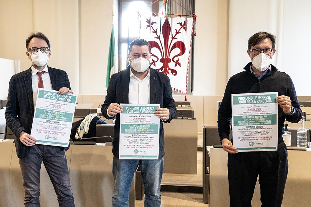 Incontro con Confesercenti Firenze, 7 aprile 2021