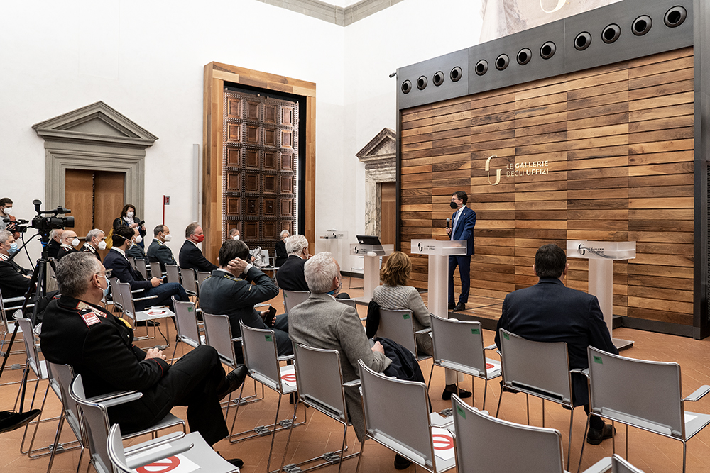 La Galleria degli Uffizi torna ad essere visitabile, 3 maggio 2021
