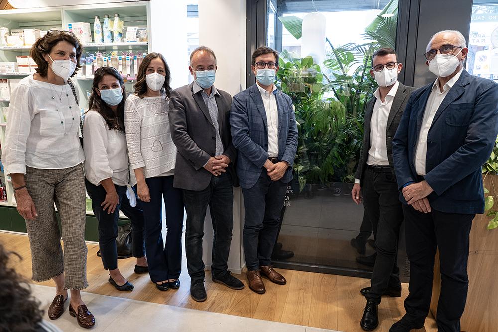 La prima farmacia al mondo ad ospitare una Fabbrica D'aria, 15 giugno 2021