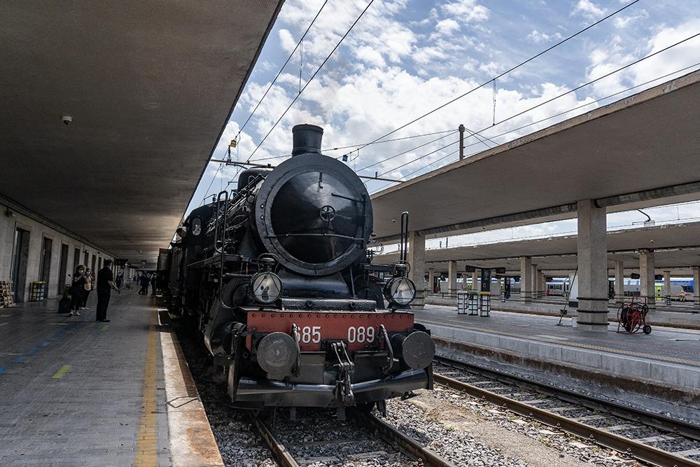 Viaggio inaugurale del treno storico a vapore Firenze-Ravenna, 6 giugno 2021