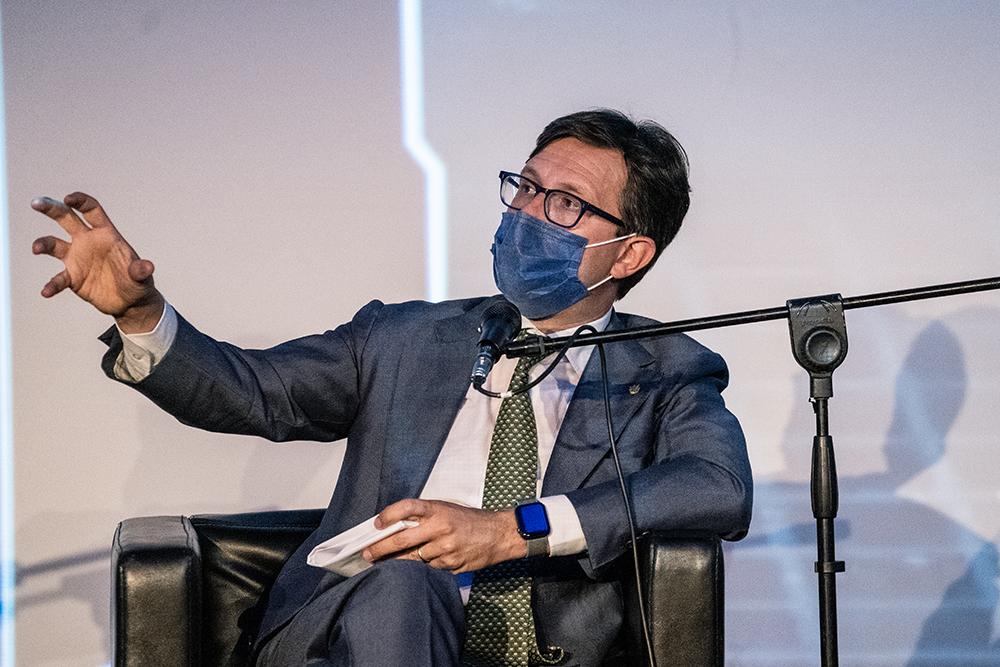 Conferenza stampa Acquedotto storico di Firenze, 21 giugno 2021