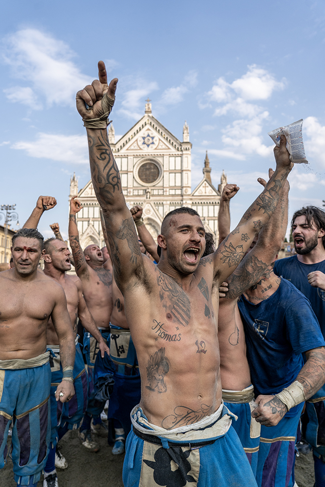 Calcio Storico Fiorentino, 11 settembre 2021