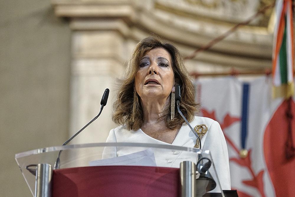 visita a Palazzo Vecchio del presidente del Senato della Repubblica Maria Elisabetta Alberti Casellati, 27 settembre2021